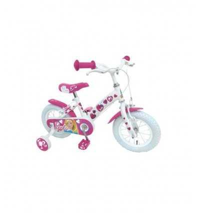Barbie vit 12 cykel CB900366SE Stamp- Futurartshop.com