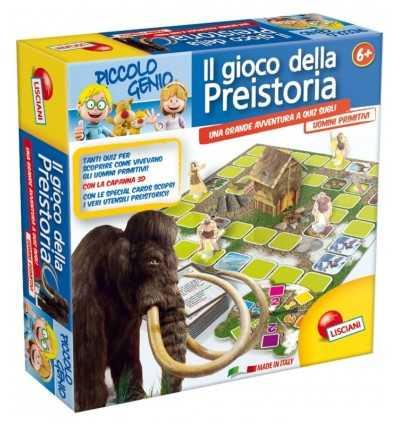 Små förhistoriska spelet geni 42982 Lisciani- Futurartshop.com
