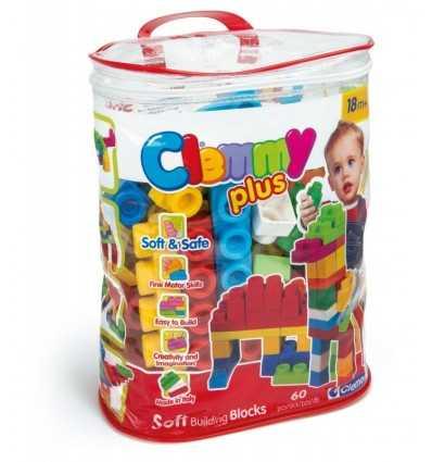 Clementoni Clemmy Plus 60-piece Bag 14880 Clementoni- Futurartshop.com
