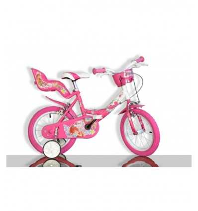 Winx 14 różowy rower 144R WX - Futurartshop.com