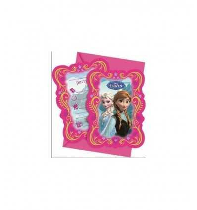 Invitations with envelopes di Frozen 6 pieces CMG82504 Giochi Preziosi- Futurartshop.com