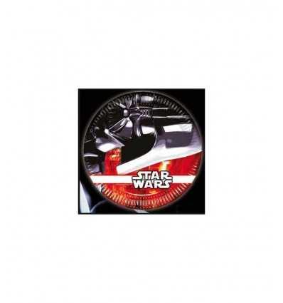 Piatti per feste Star Wars 8 pezzi CMG84145 Giochi Preziosi-Futurartshop.com