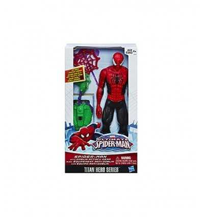 Spiderman with assault equipment A8343E270 Hasbro- Futurartshop.com
