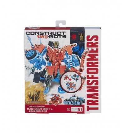 Trasformers Autobot Warriors 4 dérive & « Voyou » Dino A6166E240 Hasbro- Futurartshop.com