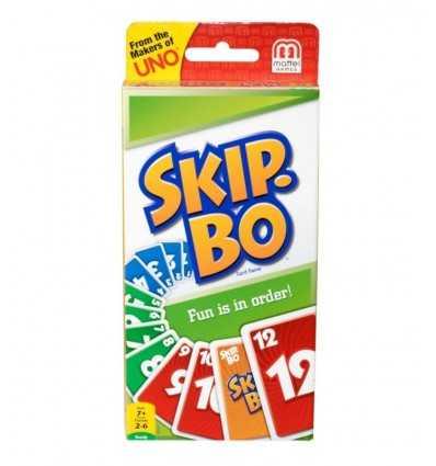 Juego de cartas de Skip-Bo 52370 Mattel- Futurartshop.com