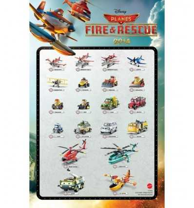 Символы пожарно-спасательные самолеты 2014- & Leadbottom CBN14 Mattel- Futurartshop.com
