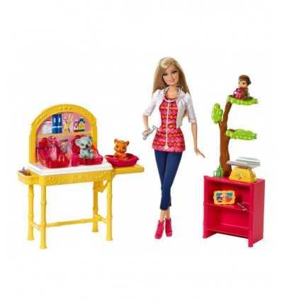 Barbie som jag kan vara den Zoo-veterinären CBL19 Mattel- Futurartshop.com