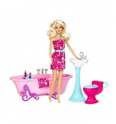 Barbie y sus accesorios de baño muebles Y2856 Mattel- Futurartshop.com
