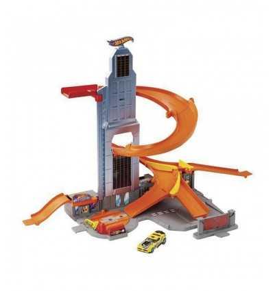 Hot Wheels race track från skyskrapa BHR00 Mattel- Futurartshop.com
