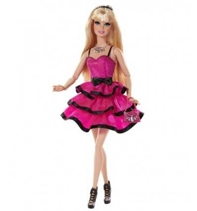 Barbie style expert with Fuchsia and black dress CCM07 Mattel- Futurartshop.com