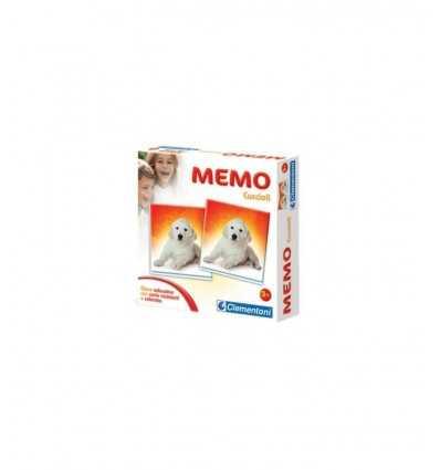 Clementoni - 12834 - Memo Games Cuccioli 12834 Clementoni- Futurartshop.com