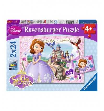 Puzzle Princesa Sophia real adventures 2 x 24 PCs 09086 Ravensburger- Futurartshop.com