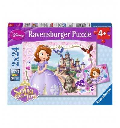 Puzzle principessa sofia avventure reali 2 x 24 pz 09086 Ravensburger-Futurartshop.com