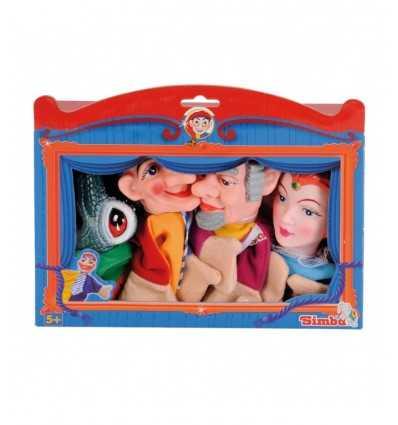 Uppsättning 4 dockor 104588490 Simba Toys- Futurartshop.com