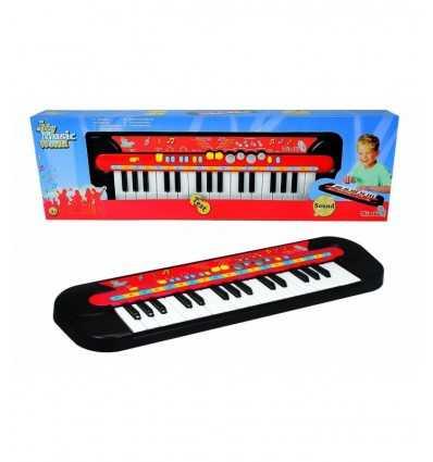 My music World Pianola with 50 x 14 cm keyboard 106833149 Simba Toys- Futurartshop.com