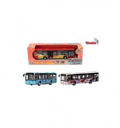 Véhicule de ville Bus embrayage cm 28 203314488 Simba Toys- Futurartshop.com