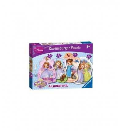 Princesse Sofia 4 en forme de Puzzle 07349 Ravensburger- Futurartshop.com
