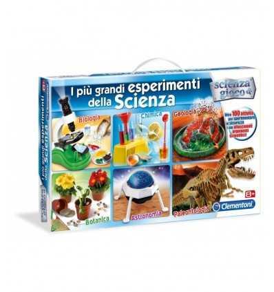 Experimentos de ciencia más grandes Clementoni 13879 13879 Clementoni- Futurartshop.com