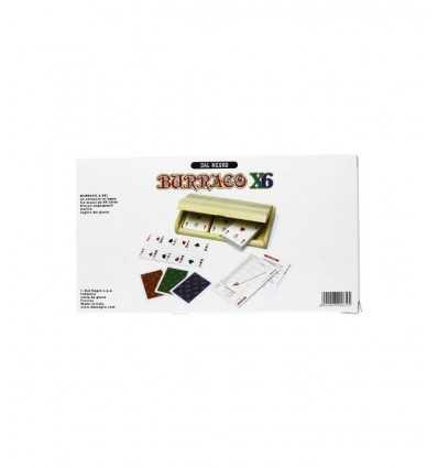 Burraco деревянный набор карт x 6 090072 Dal Negro- Futurartshop.com