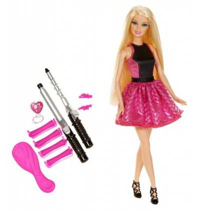 Trendige Barbie locken BMC01 Mattel- Futurartshop.com