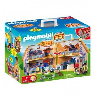 Caso de Playmobil veterinario para animales en el zoológico 5870 Playmobil- Futurartshop.com