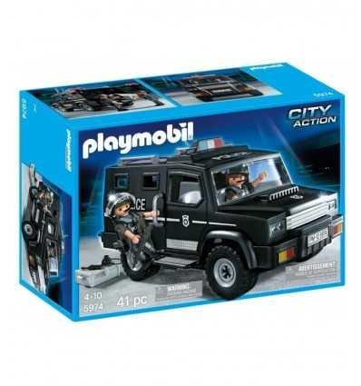 プレイモービル警察車のユニット 5974 5974 Playmobil- Futurartshop.com