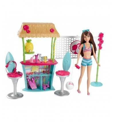 Barbie Beach Chiringuito CBR14 Mattel- Futurartshop.com