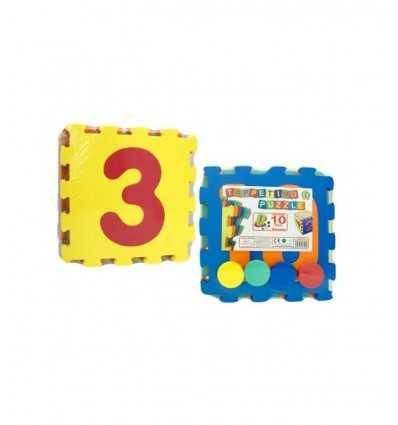 Puzzle cojín con números y discos 31056 Mazzeo- Futurartshop.com