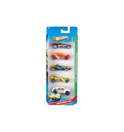 Hot Wheels Confezione 5 Veicoli - Monster Mission DJG23/1806 Mattel-Futurartshop.com