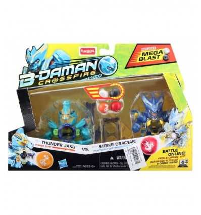 B-daman characters Thunder Jaku and Strike Dracyan A5694 Hasbro- Futurartshop.com