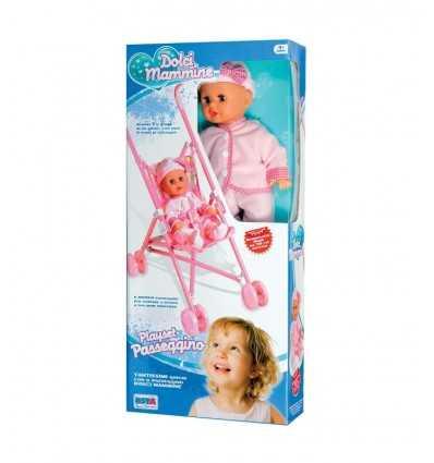 Кукла с коляски 8489 Re.El Toys- Futurartshop.com