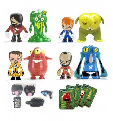 4 つのモデルでジャケット バスターズ アクション パック 700011341 700011341 Famosa- Futurartshop.com