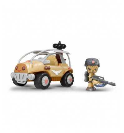 Mutant busters motstånd fordon i två modeller 700011342 Famosa- Futurartshop.com