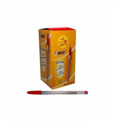 Bic Cristal penna rossa a sfera BC020100 Arvi-Futurartshop.com