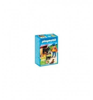 Playmobil 5125-perro con cachorros 5125 Playmobil- Futurartshop.com