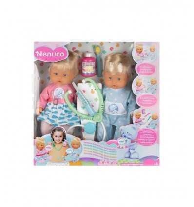 Nenuco gemelos interactivo médico 700011620 Famosa- Futurartshop.com