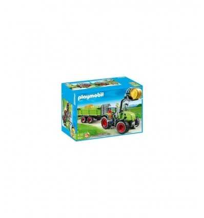 PLAYMOBIL 5121-tracteur avec remorque 5121 Playmobil- Futurartshop.com