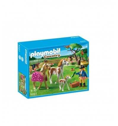 Recinto con cavallo di Pony 5227 5227 Playmobil- Futurartshop.com