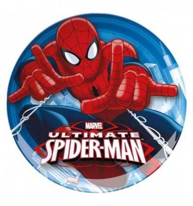 Assiette plate Spiderman Ultimate 02401 Cartorama- Futurartshop.com