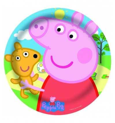 Plato de fiesta Peppa pig 86588 Como Giochi - Futurartshop.com