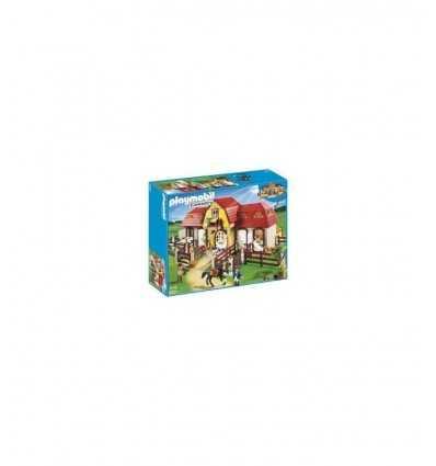 Gran caballo con valla 5221 05221 Playmobil- Futurartshop.com