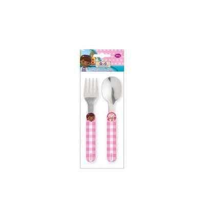 Spoon and fork Set Dr. Plush 123503 Cartorama- Futurartshop.com