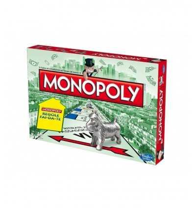 Monopol regler DIY B12191030 Hasbro- Futurartshop.com