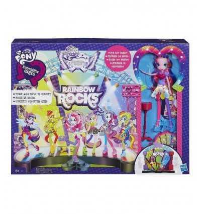 Die Bühne für das Konzert von My Little Pony Rainbow Rocks A8060EU40 Hasbro- Futurartshop.com