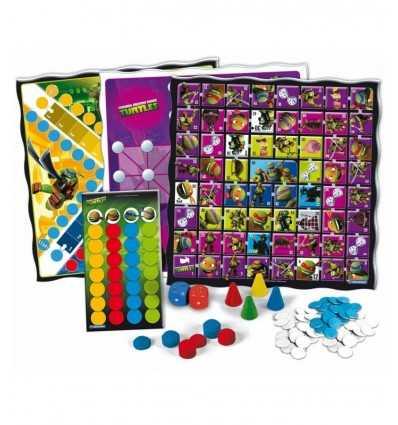 50 giochi riuniti ninja turtlees 12039 Clementoni-Futurartshop.com