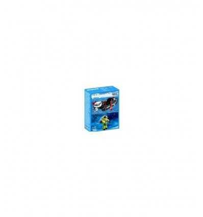 Bote con sub 4910 4910 Playmobil- Futurartshop.com