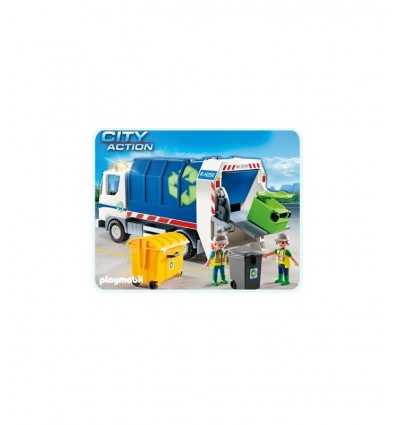 Camions écologiques avec clignotants 4129 4129 Playmobil- Futurartshop.com