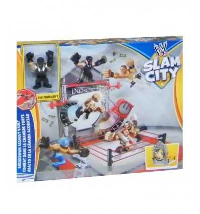 Ring WWE Playset Cartoni Animati BHL26 0746775341978 Mattel-Futurartshop.com