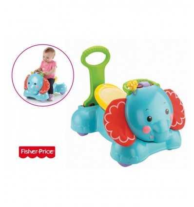 Bouncy 3 in 1 elephant CBN62 Fisher Price- Futurartshop.com