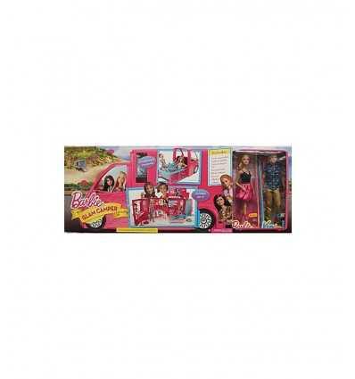 Camper Barbie Glam piu 2 Bambole Mattel CLC33 Mattel-Futurartshop.com
